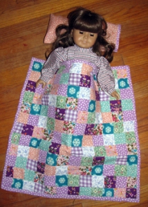 Doll quilt blog