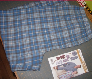 Flannel pants blog