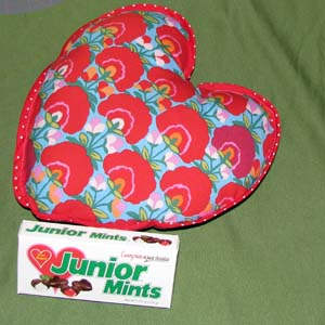 Heart pillow blog