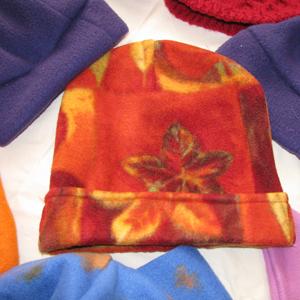 Fleece hat blog