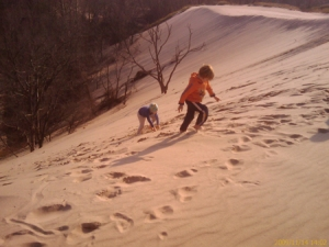 Sand dunes kids