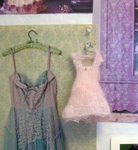 Pink dress small