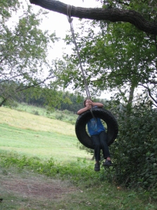 September tire swing