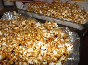 October caramel corn