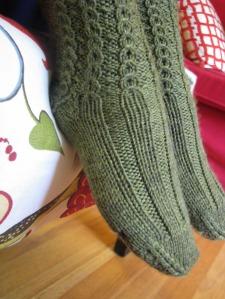 PKOK ottoman toes detail