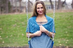 Fanette shawl
