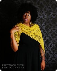 Shaping shawls maria-shawl zyg yarn