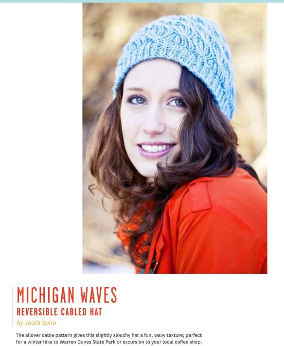 Michigan Waves Hat