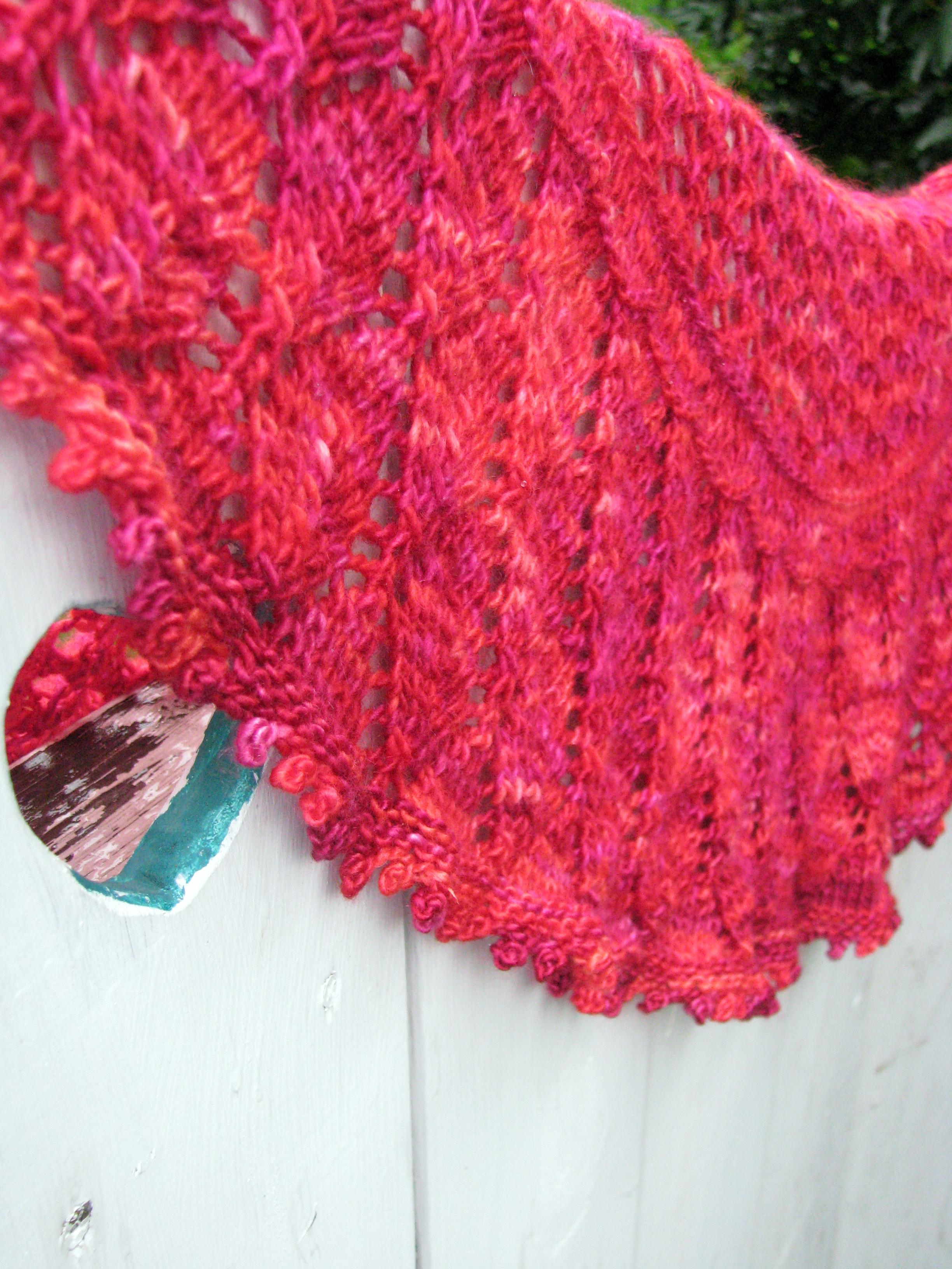 Circle Knitting Pattern : half-circle shawl pattern knitcircus