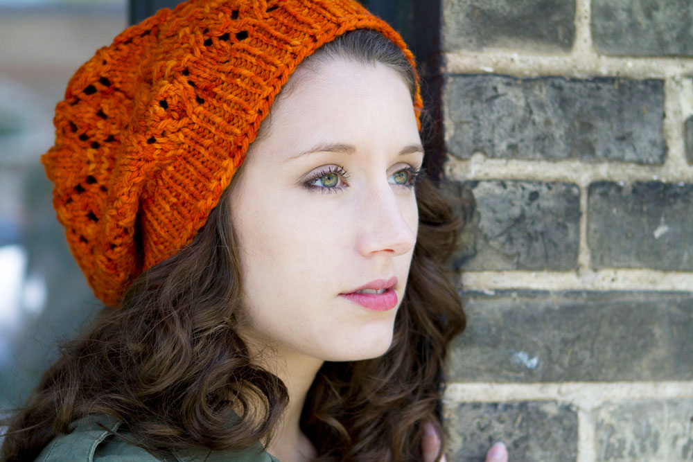 New Pattern Milwaukee Slouchy Beret Knitcircus