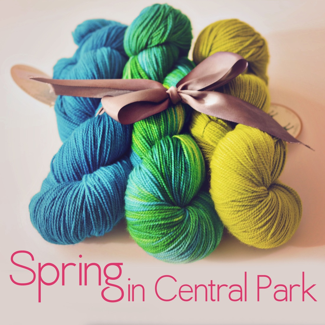 Spring in Central Park yummy shawl kit!