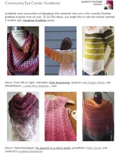 Ravelry Gradients Page