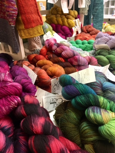 Space Cadet yarns 3